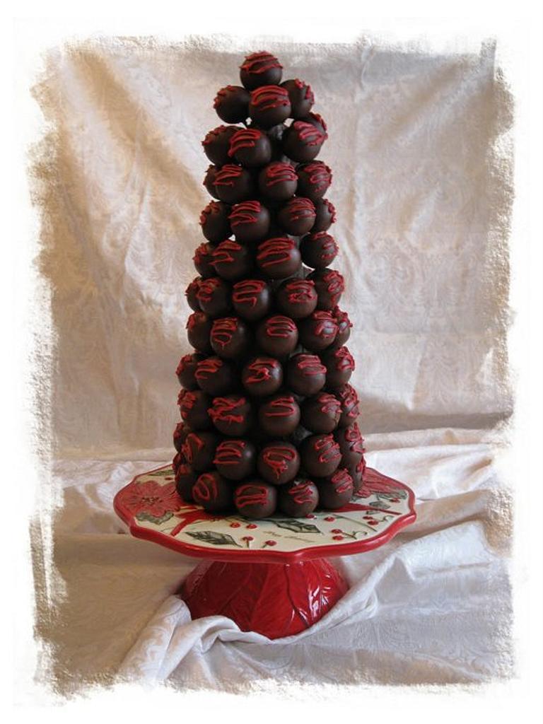 Cake Truffle Tree by CakeParties