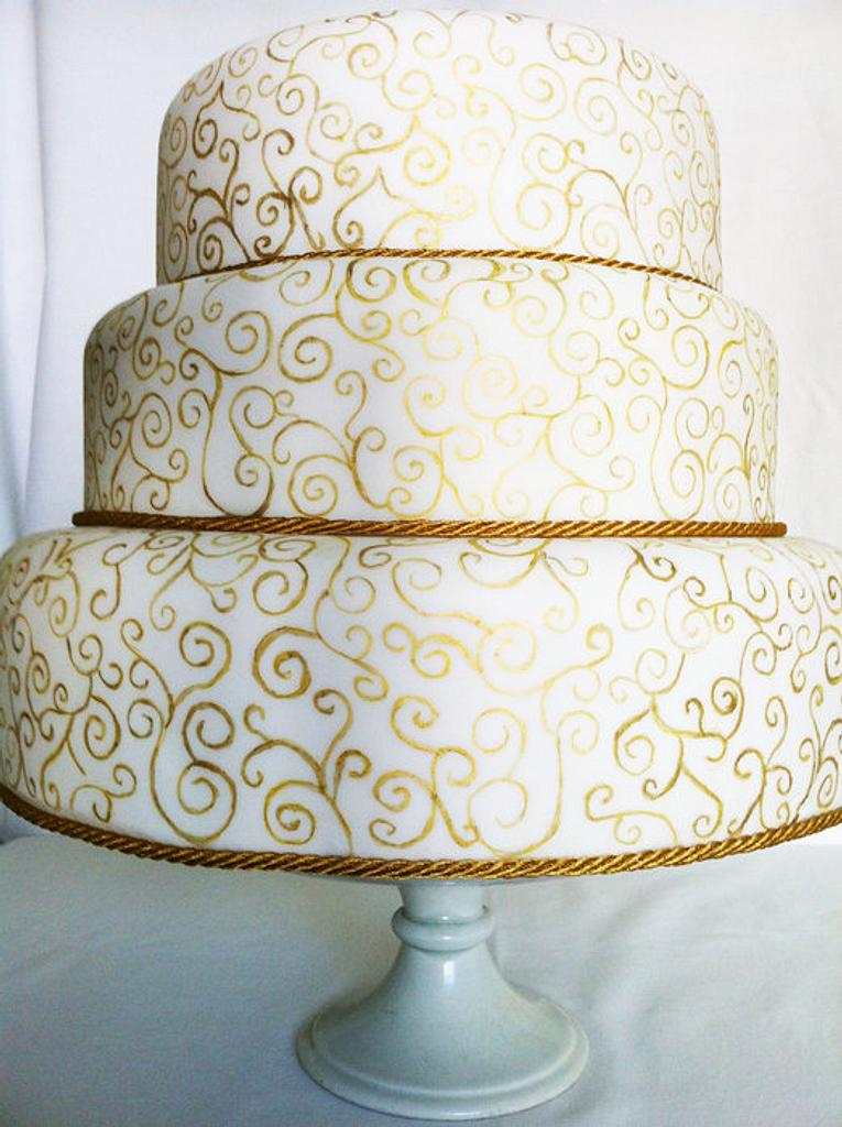 The day was golden by PetiteSweet-Cake Boutique