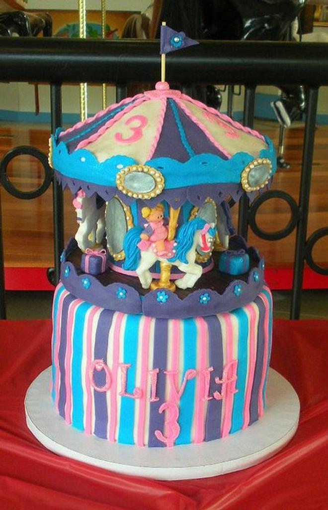 Carousel Cake by Andrea Bergin