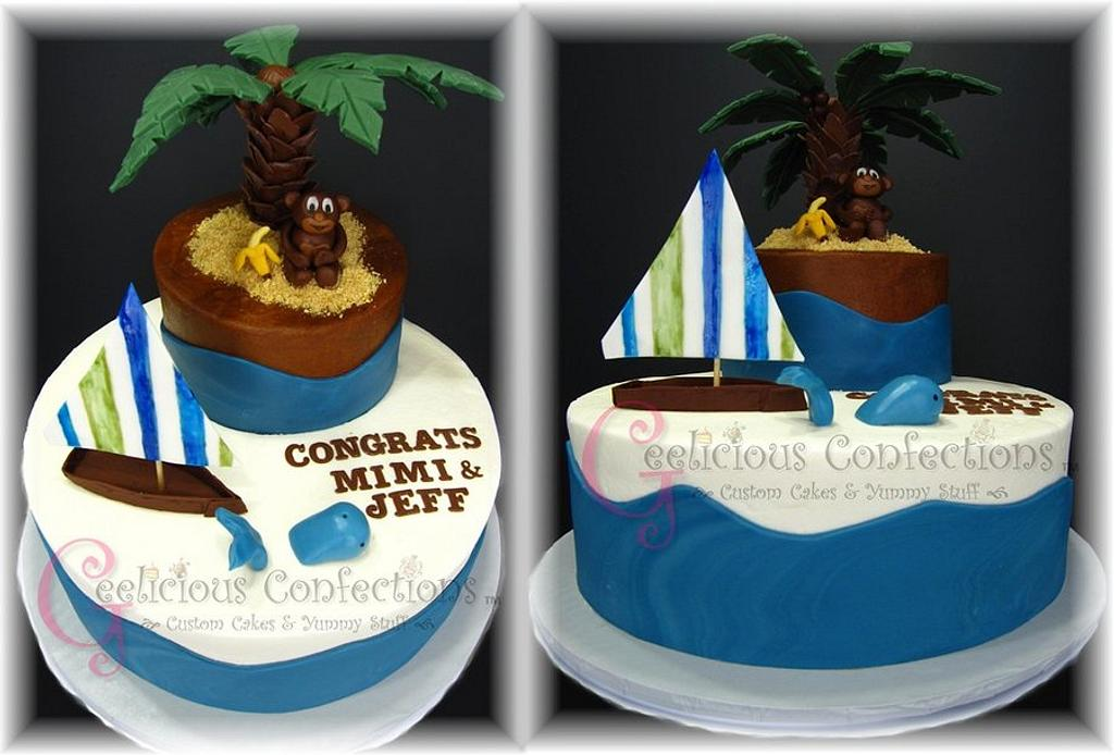 Whales and Monkey by Geelicious Confections