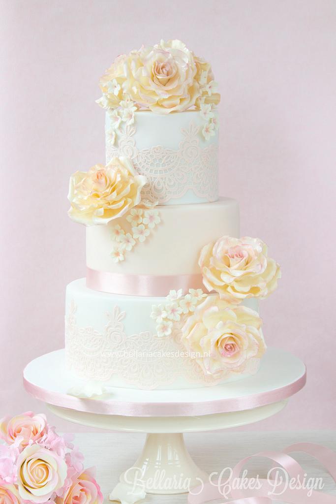 Rose Enchantment by Bellaria Cake Design