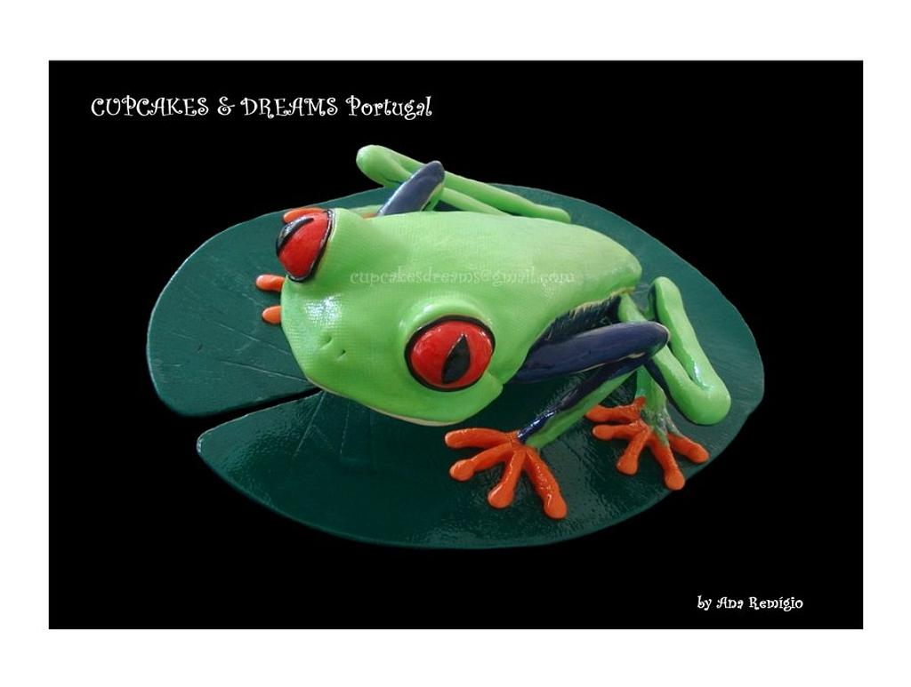 RED EYE FROG by Ana Remígio - CUPCAKES & DREAMS Portugal