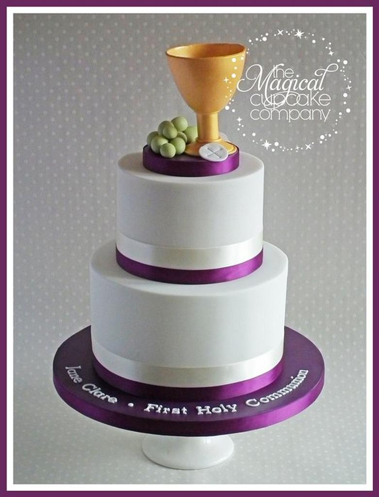 First Holy Communion Cake by Sam