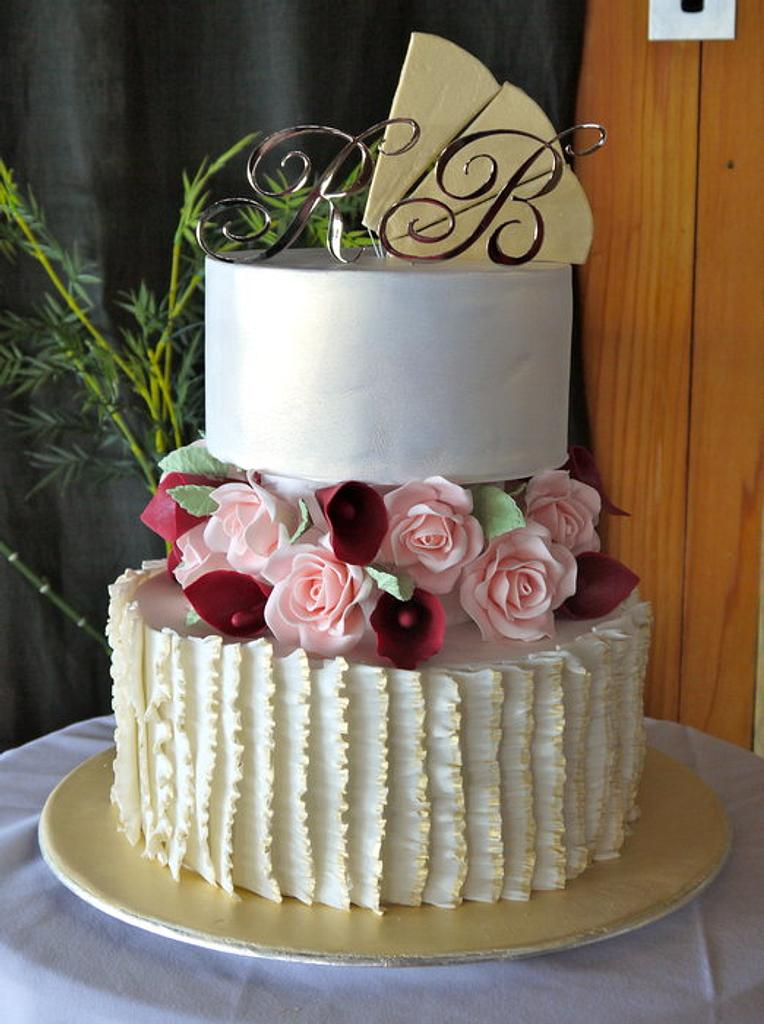Roses & Lilies with Frills by Prettytemptations
