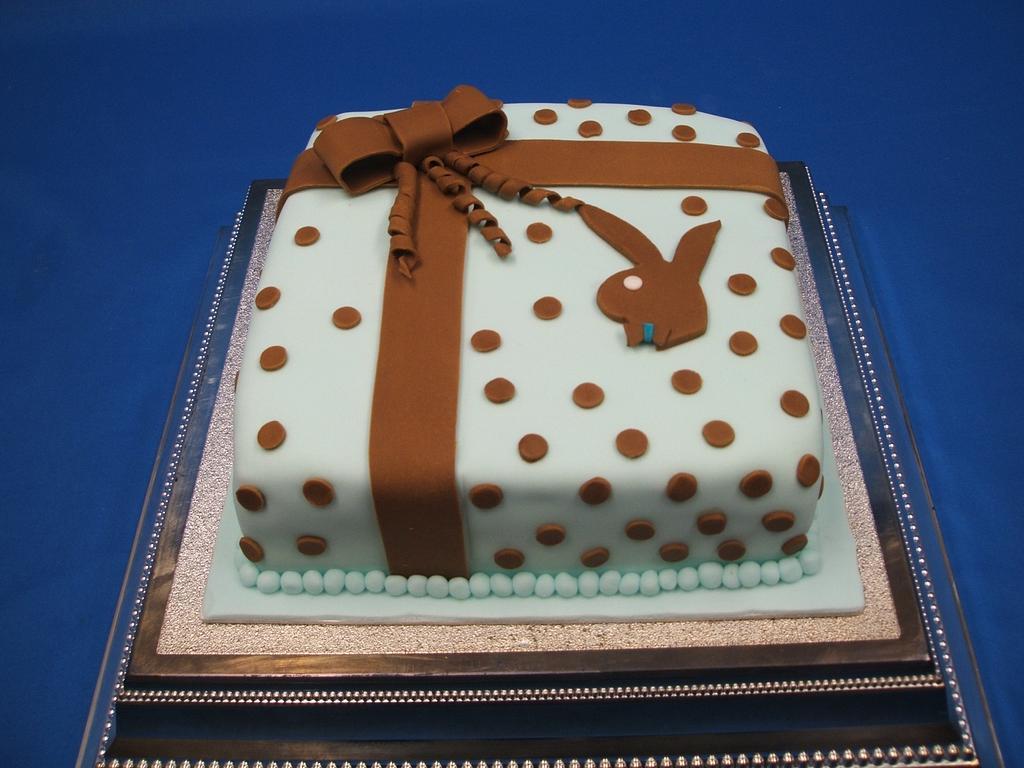 The Playboy Birthday cake by Zucker-Kunst, Esi Jaeger