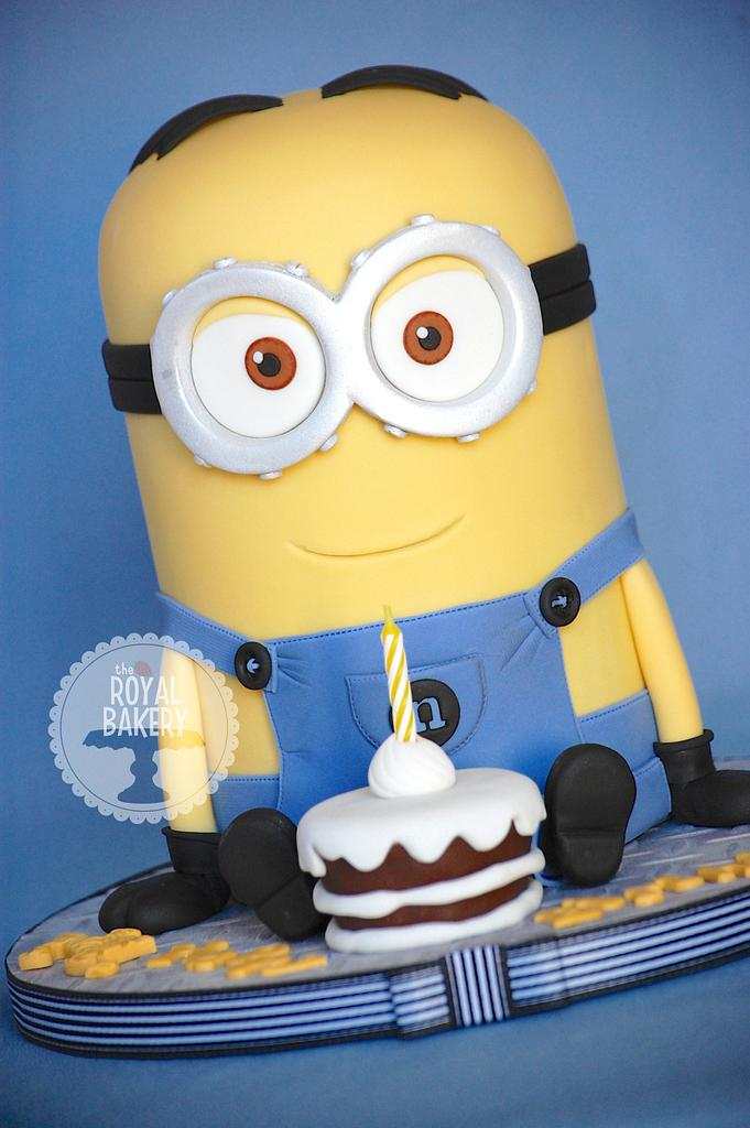 Minion Dave 2 by Lesley Wright