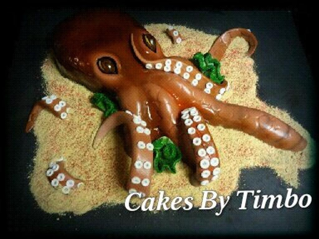 Octopus Cake! by Timbo Sullivan
