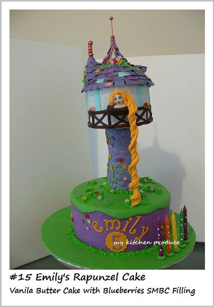 Rapunzel Cake by Linda Kurniawan