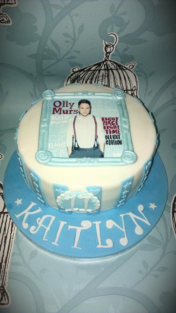 Olly Murs by Cakes galore at 24