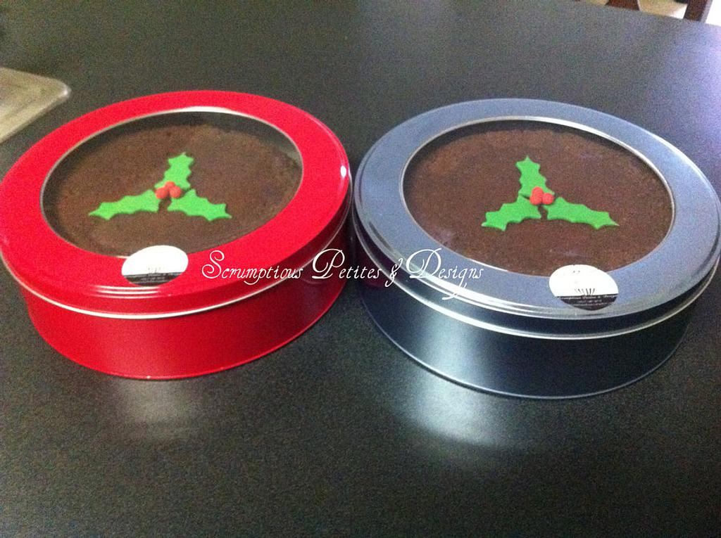 Jamaican Fruit Cake (aka Black Cake) by ScrumptiousPetites