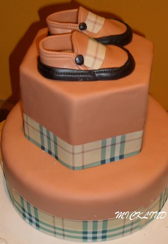 BURBERRY THEMED BABY SHOWER by Linda
