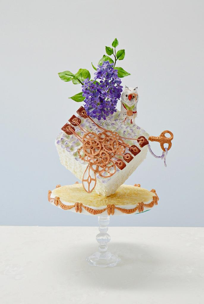Wisdom cube- #steamcakes by Catalina Anghel azúcar'arte