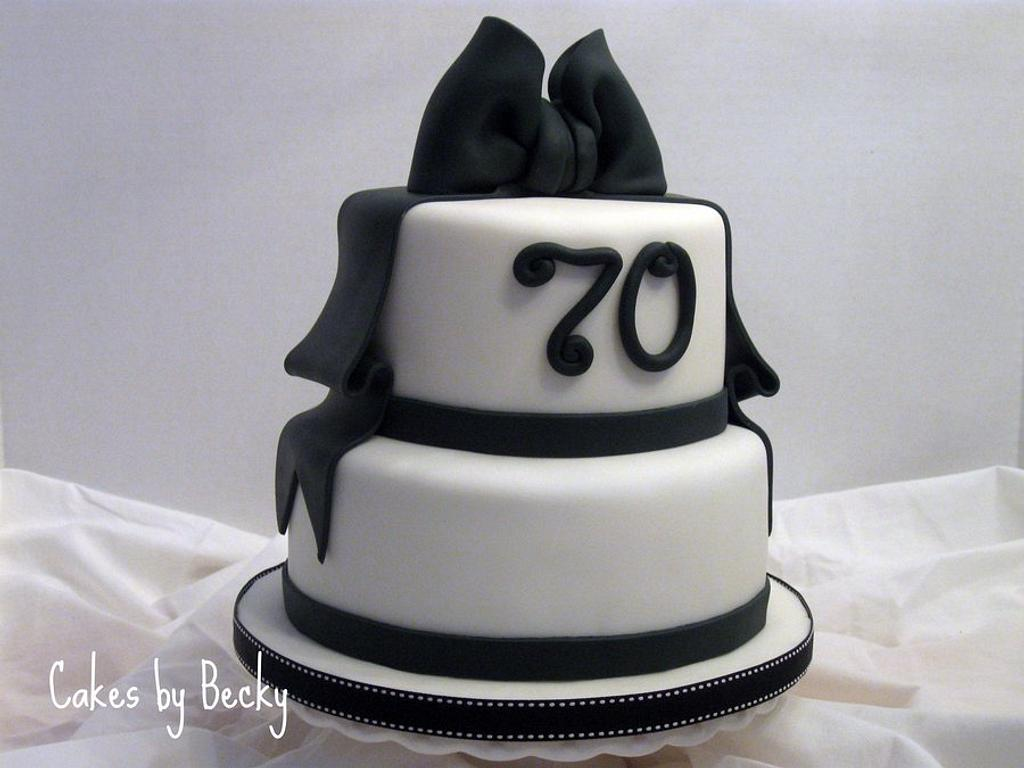 Black & White Birthday by Becky Pendergraft