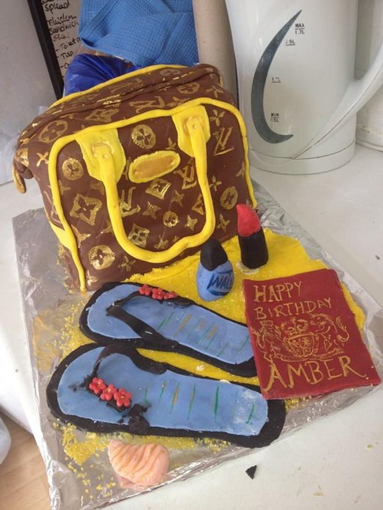 my sisters 24th birthday cake by sumbi