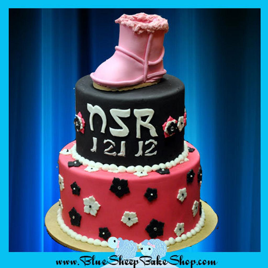 Ugg boot cake by Karin Giamella