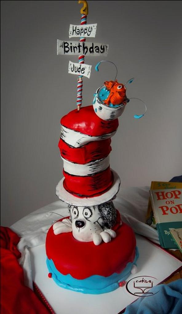 Cat in the Hat by Komel Crowley
