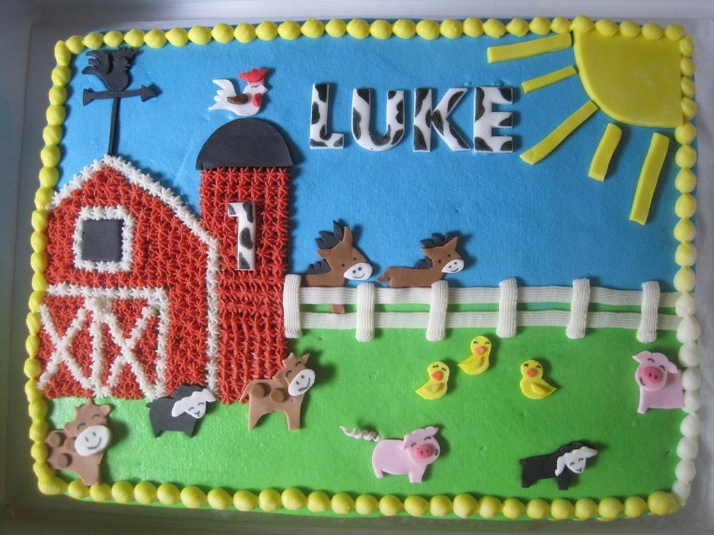 Barnyard Birthday by Renee Daly