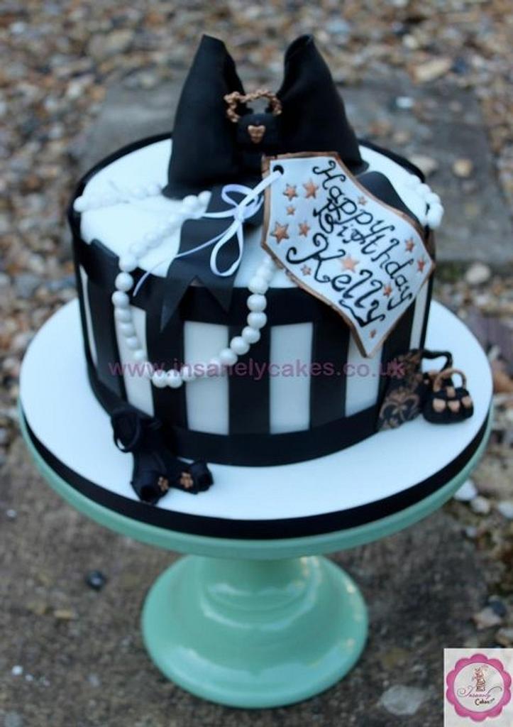 Vintage Hat Box Cake by InsanelyCakes