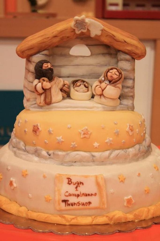 cake nativity  thun by Conte Carmen