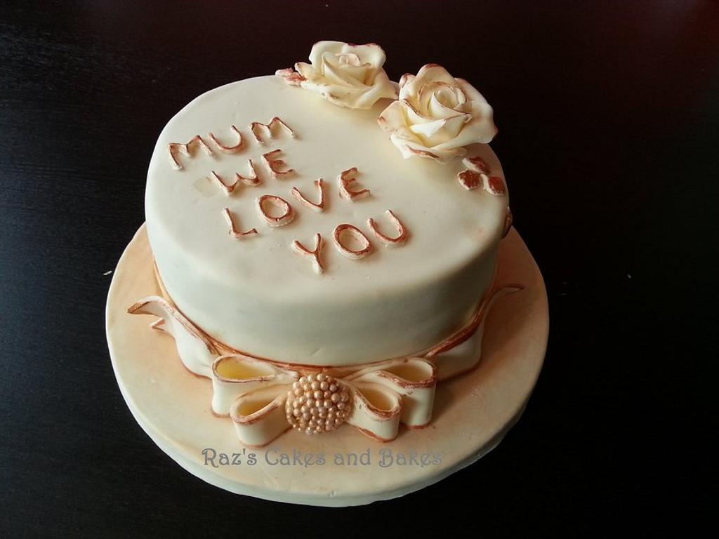 Cake for Mothers Day  by RazsCakes