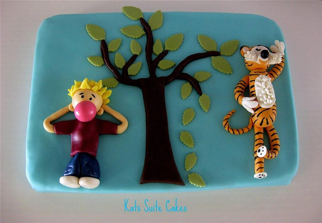 Calvin and Hobbes by Kat