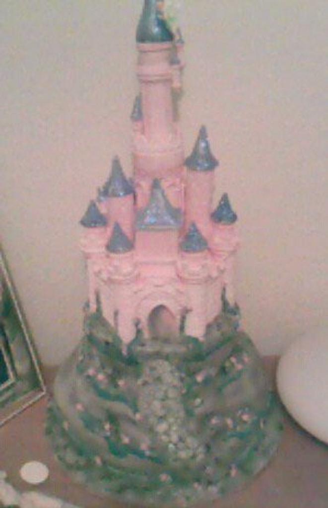 disney castle by Anne dillon