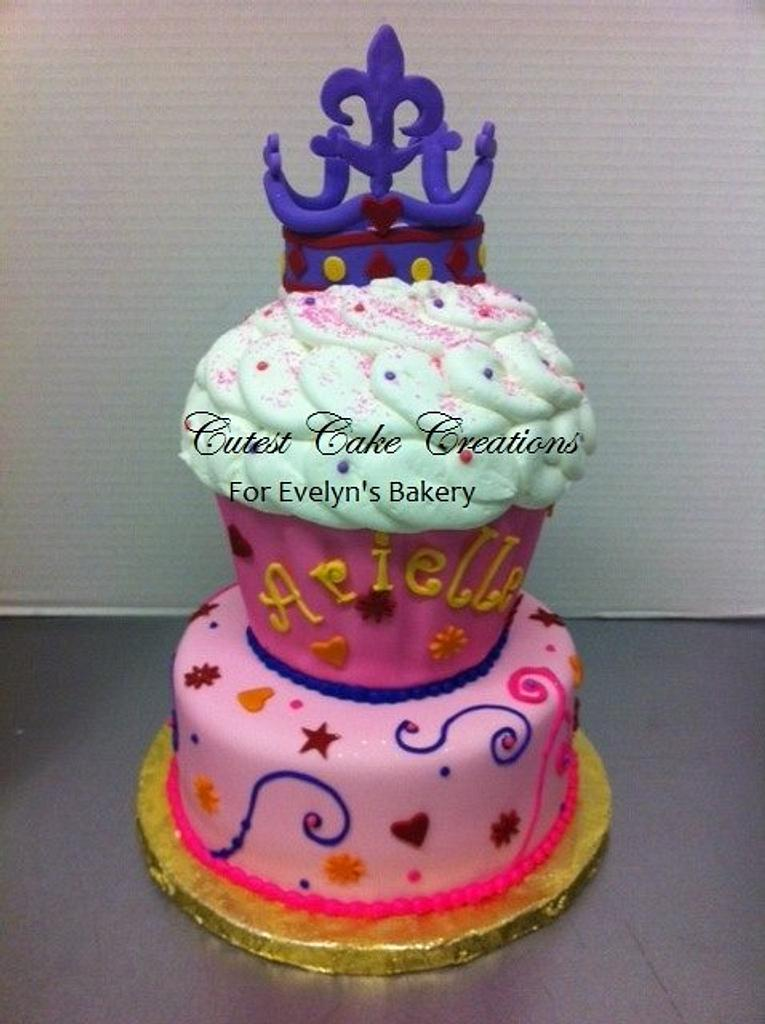 Cupcake princess by Evelyn Vargas