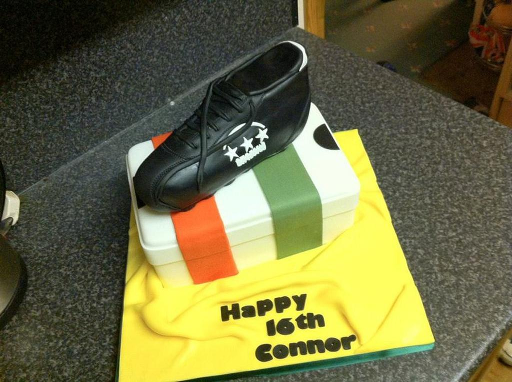 Football (soccer) boot by GazsCakery