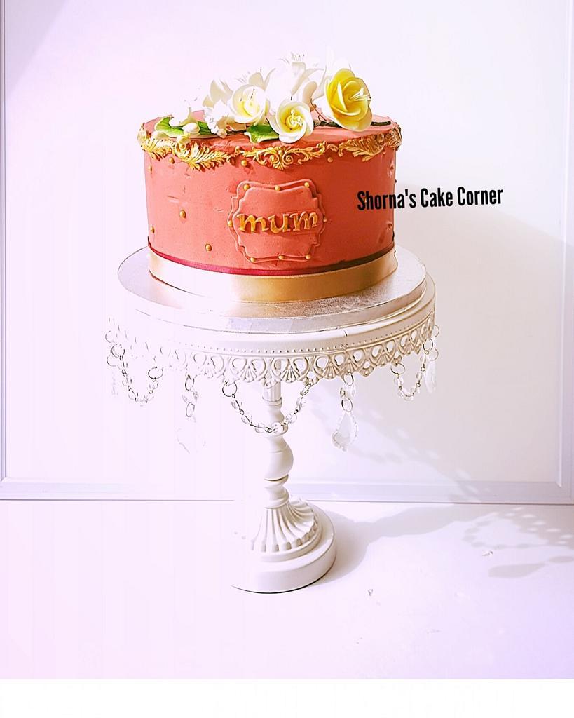 Birthday cake  by Shorna's Cake Corner
