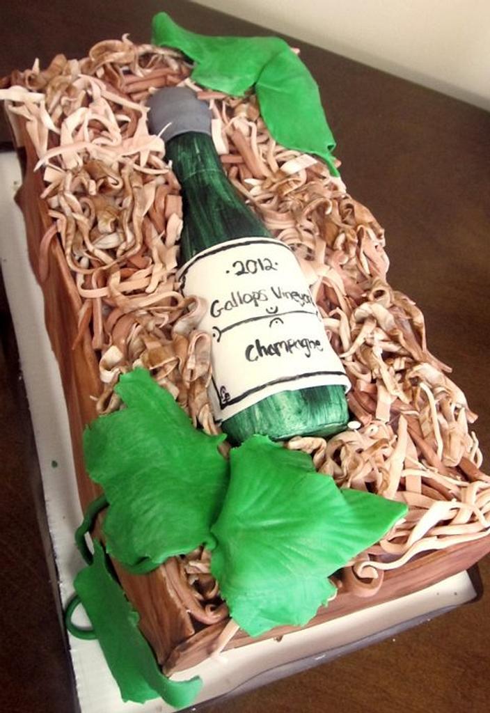 Wine Cake by Stephanie