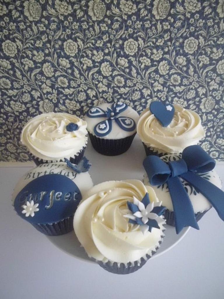 elegant blue by prettypetal