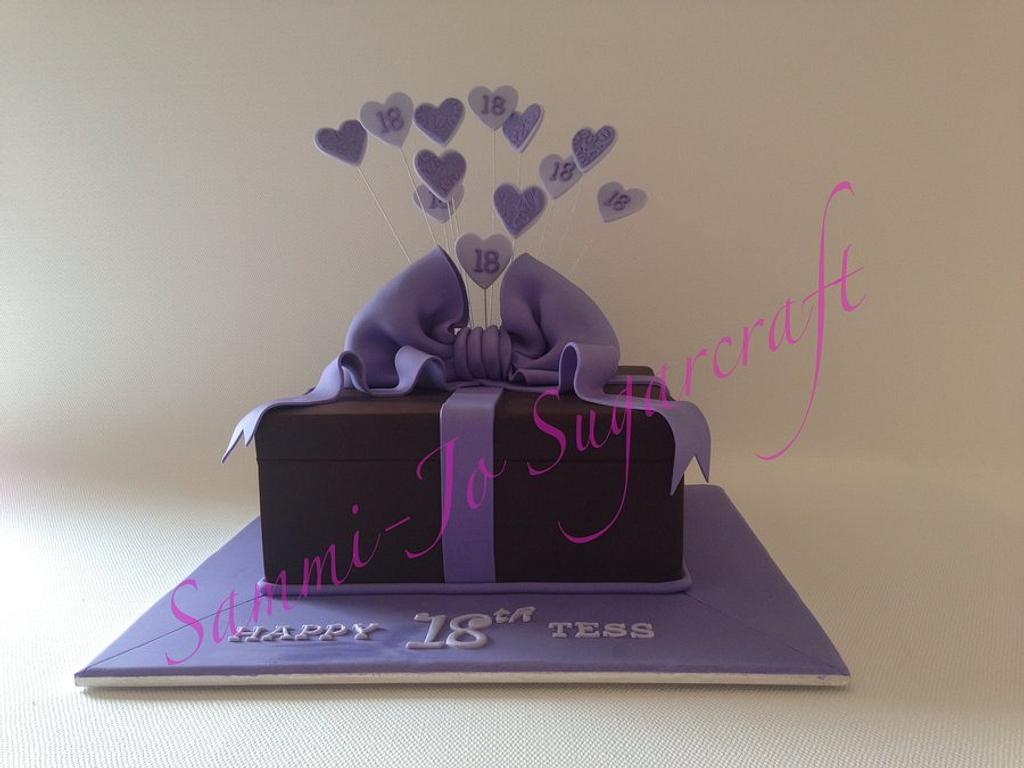 Present cake by Sammi-Jo Sweet Creations