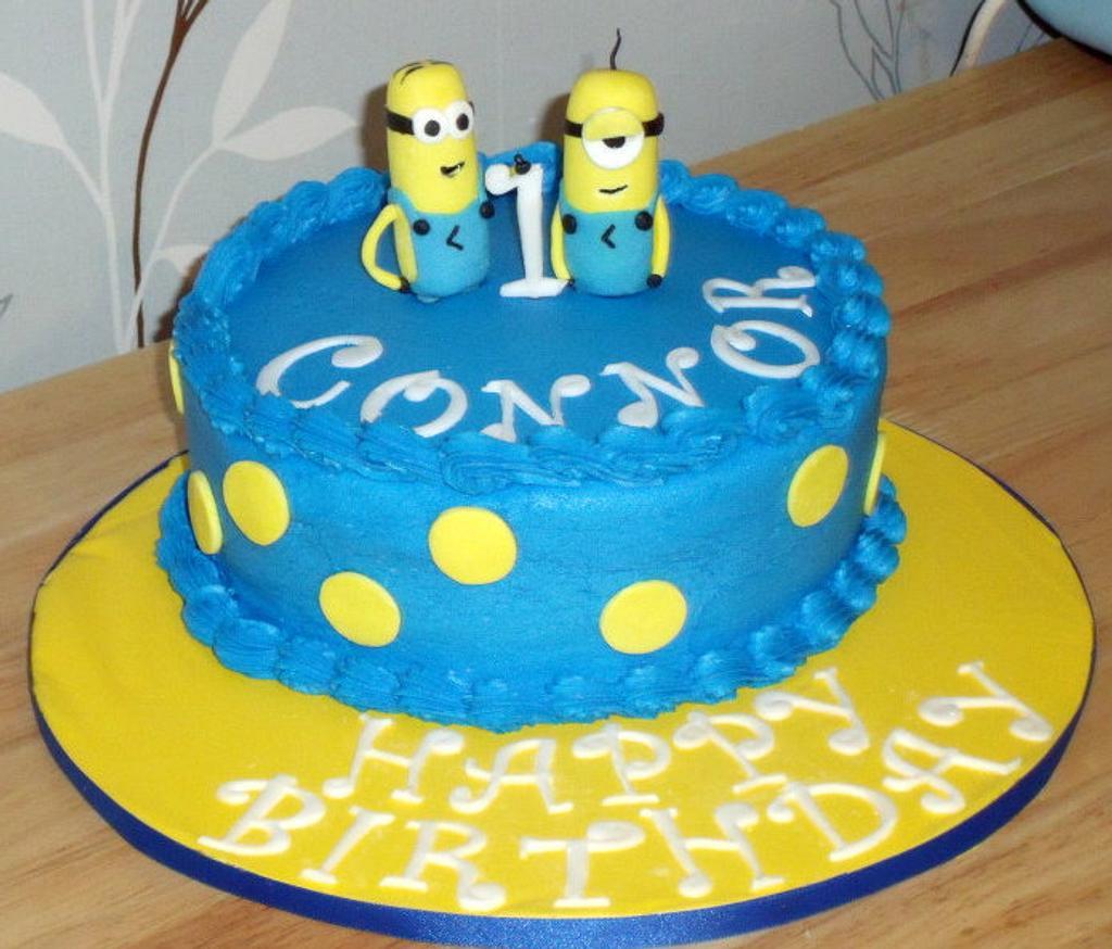 Minion Birthday by Crystal