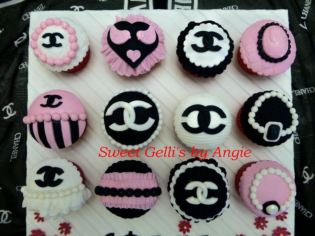 Chanel Vintage Cupcakes by Angie Taylor