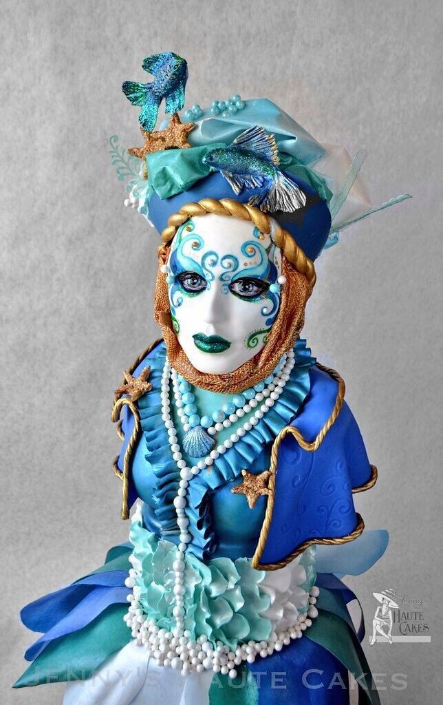 Carnival Cakers Collaboration by Jenny Kennedy Jenny's Haute Cakes
