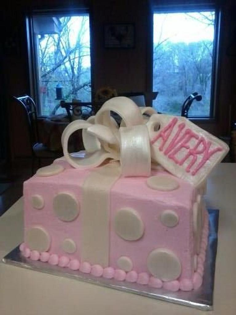 Baby Shower Cake by sactreats