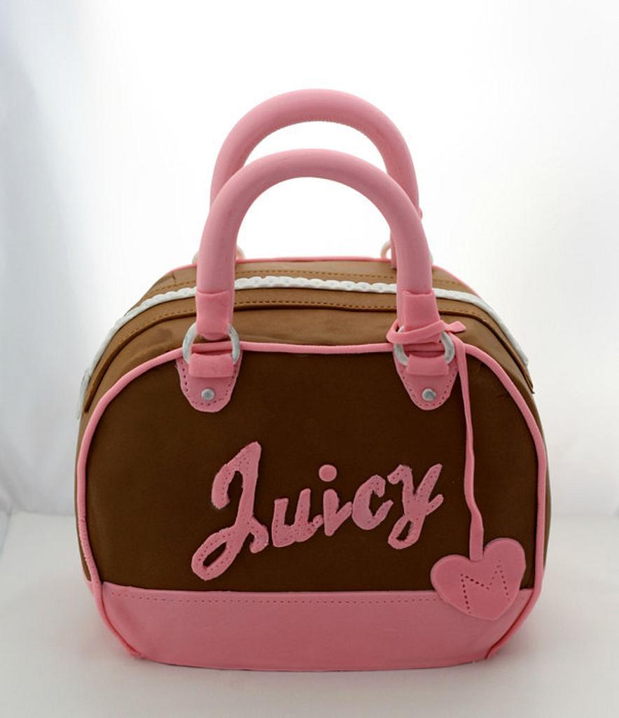 Juicy Couture Handbag Cake by Miriam
