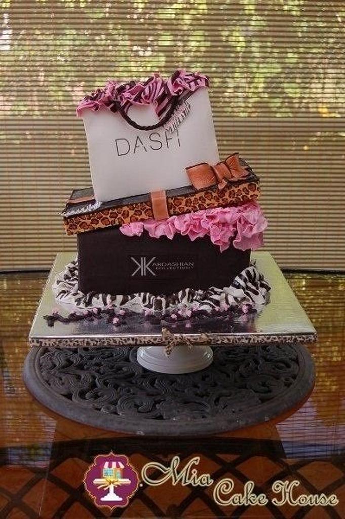 Fashionista cake by Sheila