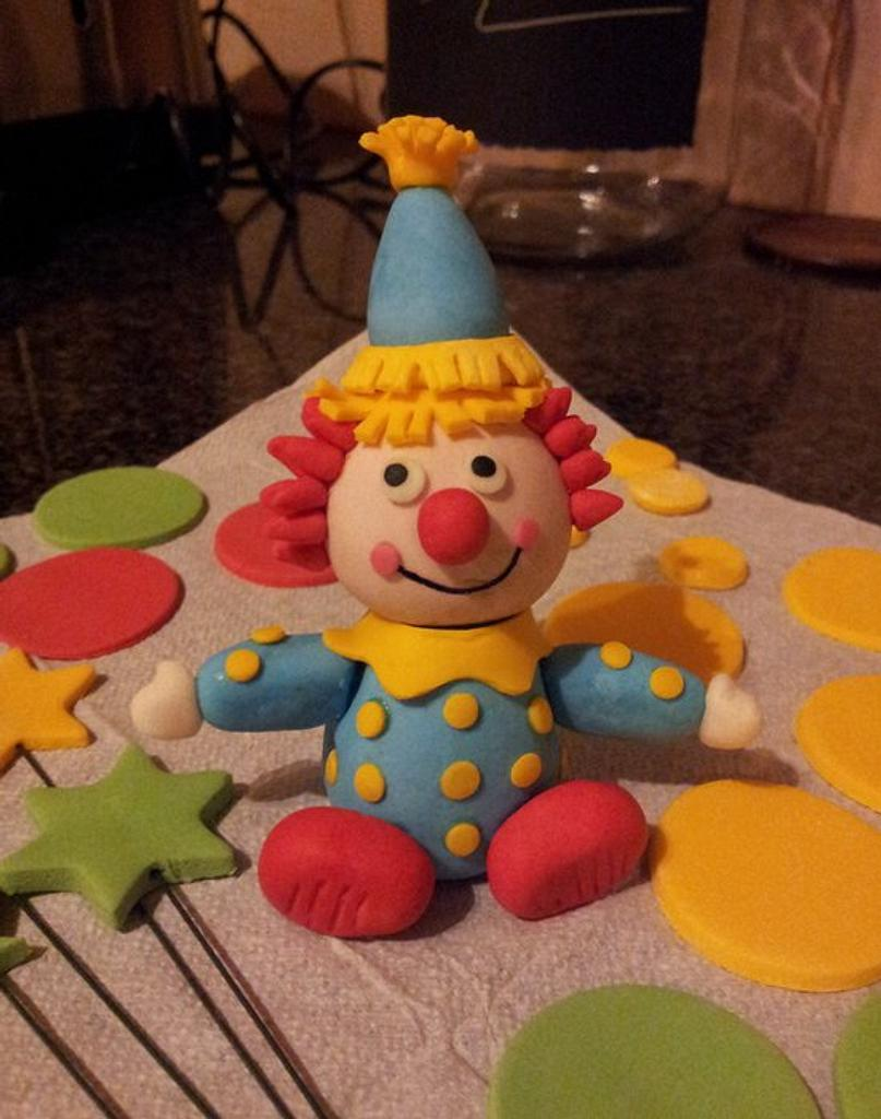Sugarpaste Clown by Renee Rahaman