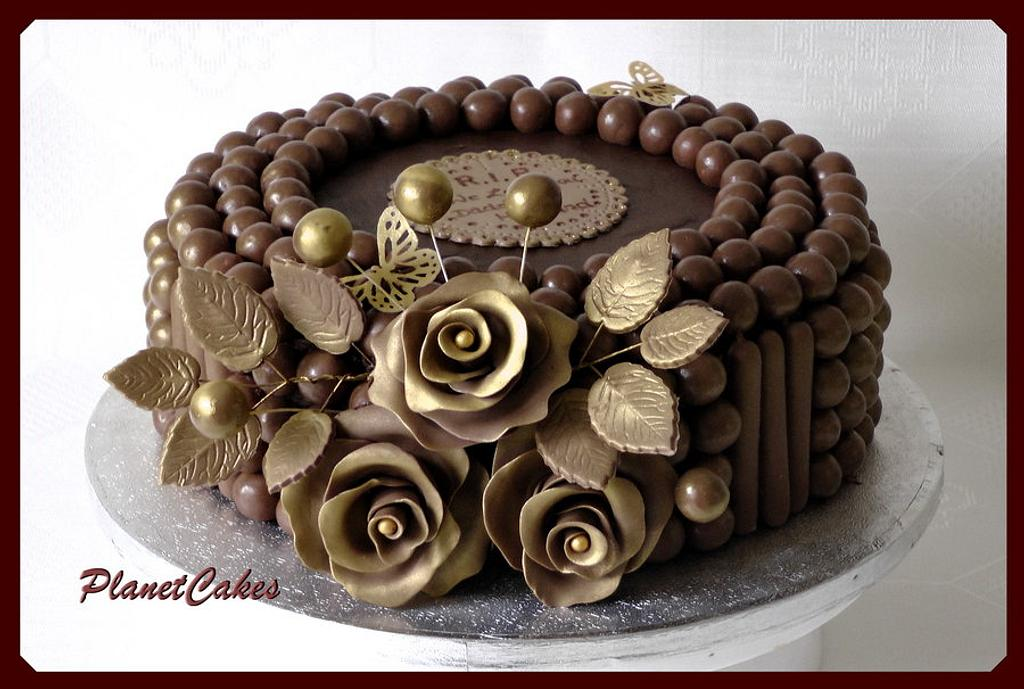 Anniversary Maltesers Cake by Planet Cakes