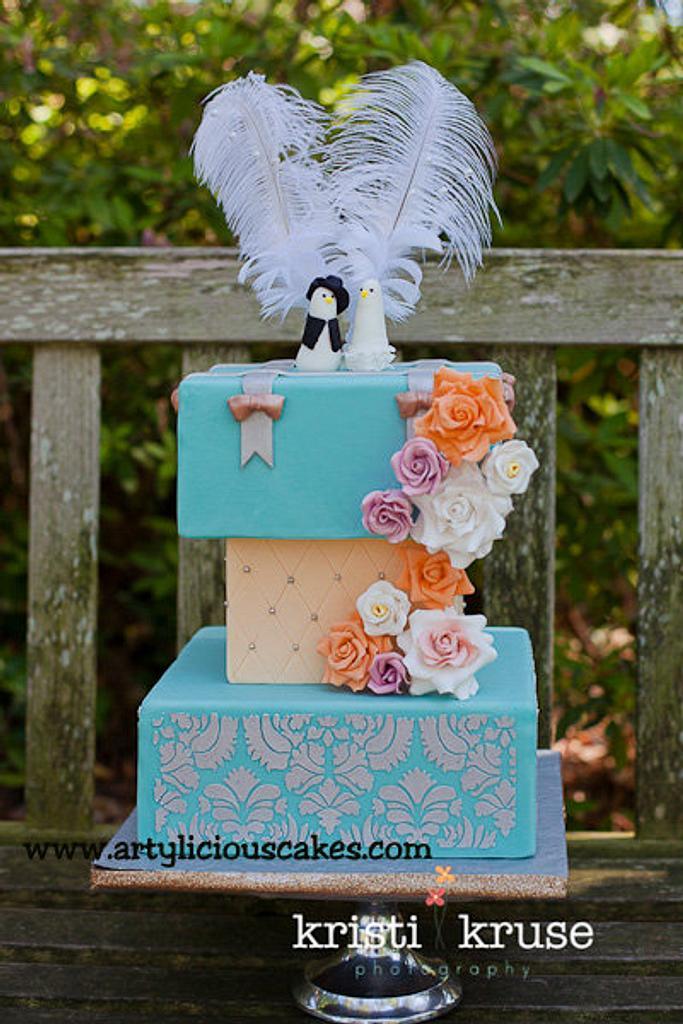 """Miu"" wedding cakes by iriene wang"