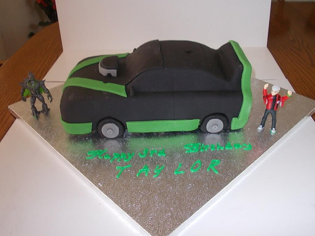 Ben 10 Birthday Cake by David Mason
