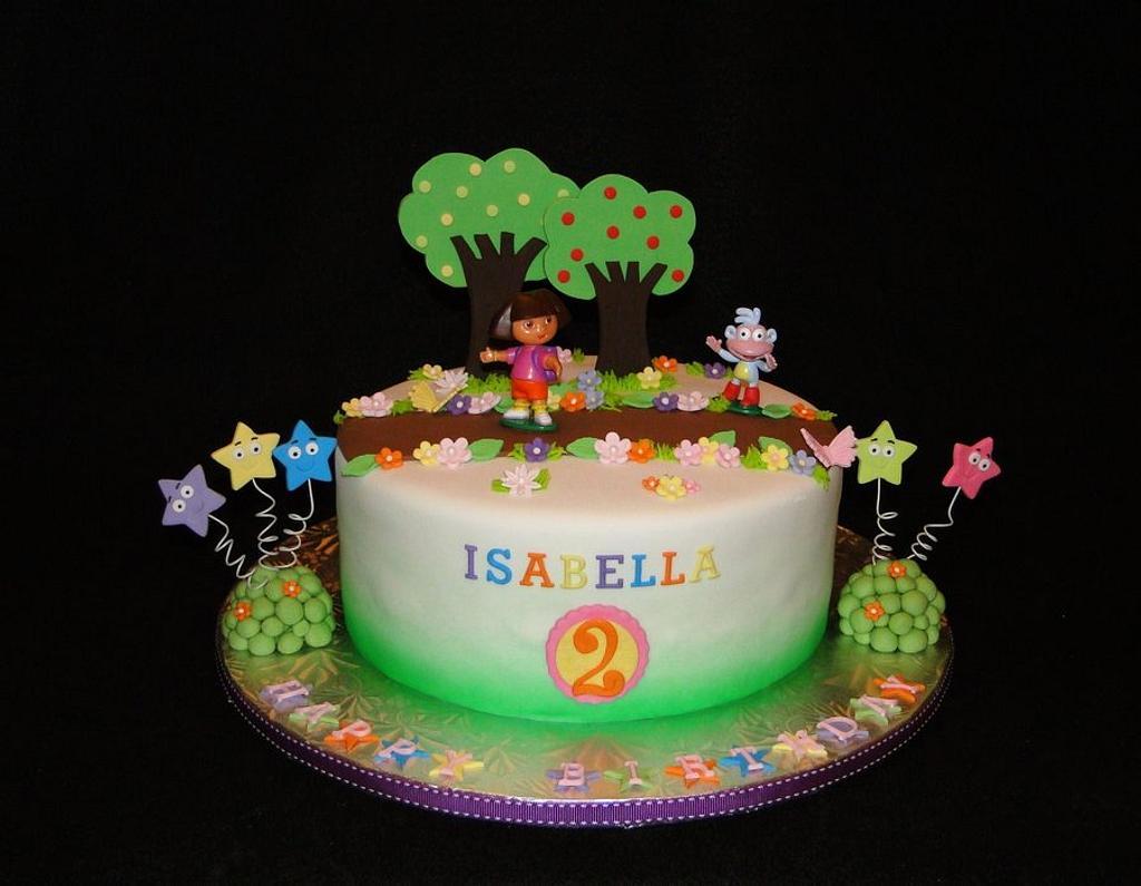 Dora Cake by Elisa Colon