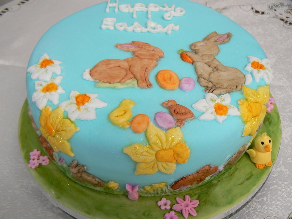 Easter Rabbit cake by Anita's Cakes