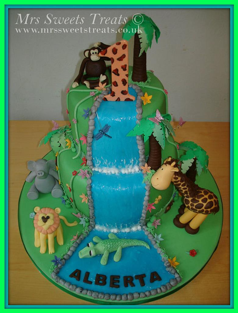 Jungle Cake by Jessica Rabicano-Sweet