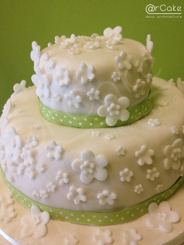total white birthday cake by maria antonietta motta - arcake -