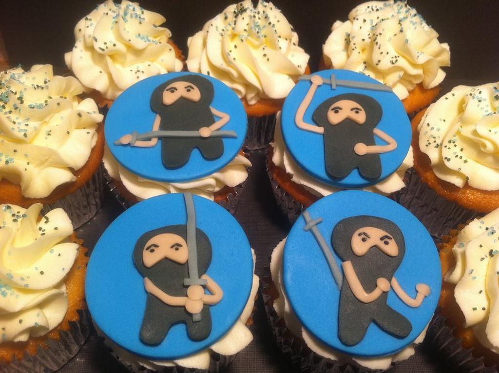 Ninja Cupcakes by Nikki Belleperche