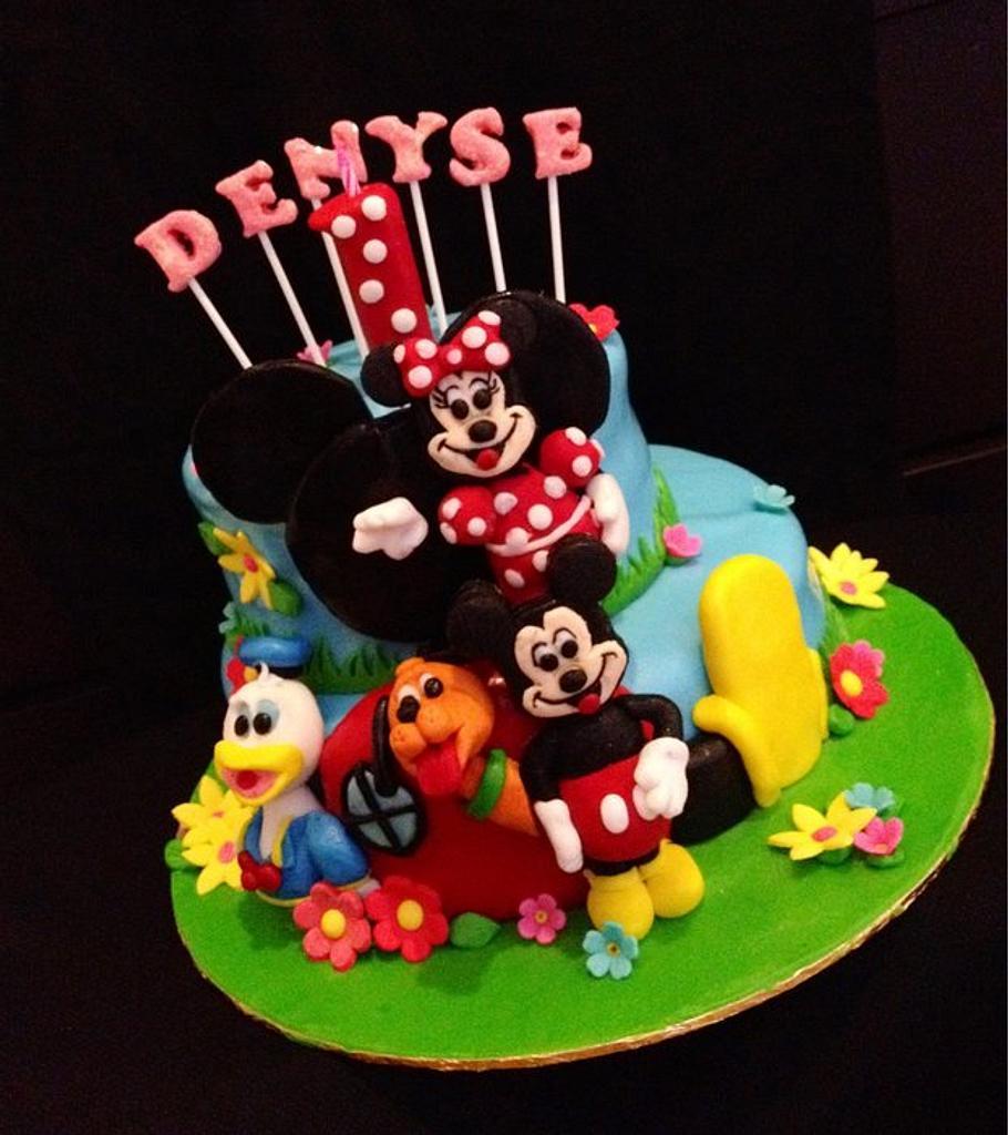 Minnie Mouse & Friends by emilylek