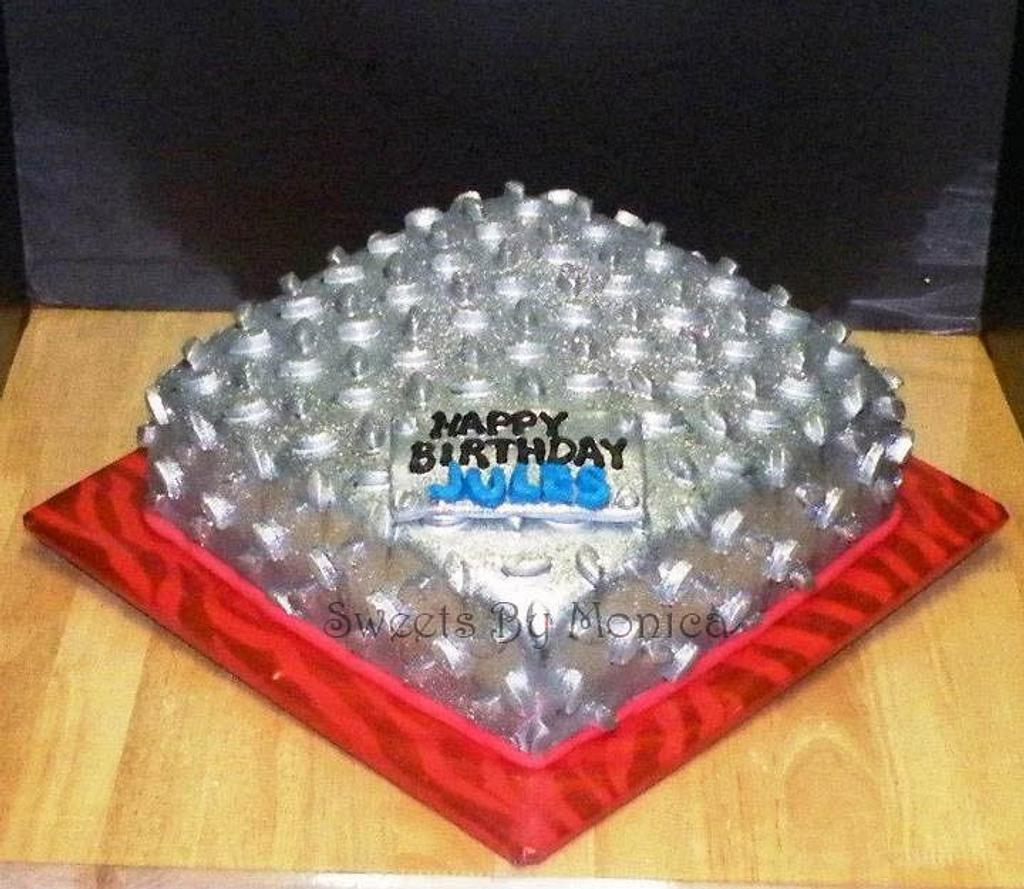 Diamond Plate Birthday by Sweets By Monica