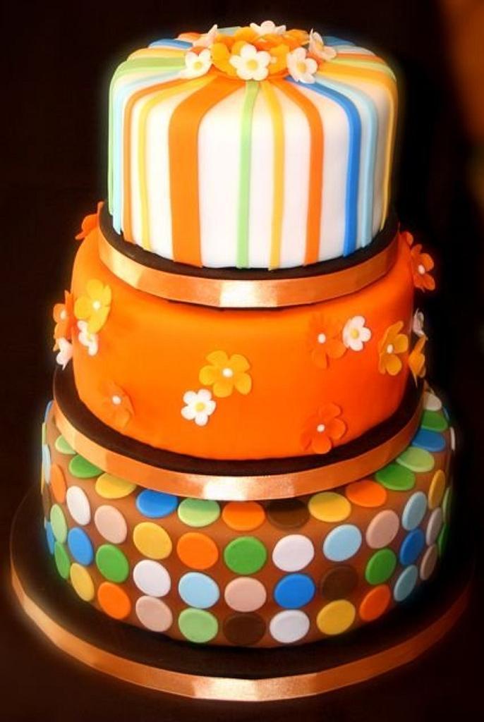 Orange Dream Cake by Stacy Lint